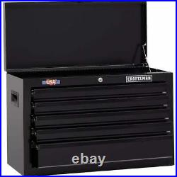 1000 Series 26-in W X 17.25-in H 5-Drawer Steel Tool Chest (Black)4