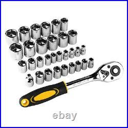 198Pcs US Handyman Tool Set Combination Wrenches, Repair Tools With Plastic Box