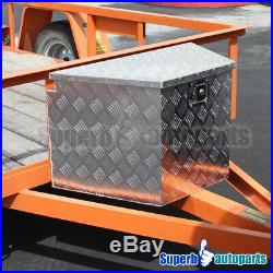 29x15.2x18 Pickup RV Truck Tongue Tool Box Under Bed Storage Trailer withLock