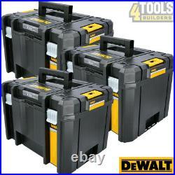 3 x Dewalt DWST1-71195 T-Stak VI Deep Tool Storage Box 23L Without Tote Tray