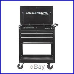 30 Rolling Tool Cart With Locks 4 Drawer Storage Box Garage Mechanic Shop New