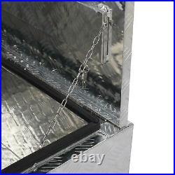 30x 18x 17 Aluminum Underbody Trunk Bed Trailer Tool Box Storage withLock