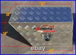30x10x16 Pair Aluminium Undertray Under Tray Underbody Ute Tool Box bed Truck