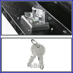 36 Heavy Duty Black Aluminum Tool Box Truck Storage Underbody Trunk Trailer