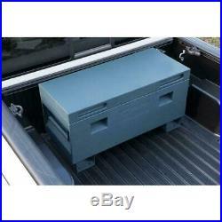 36 in. Job site box, gray trinity storage tool truck jobsite lockable garage
