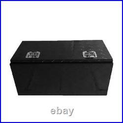 36x18 Heavy Duty Black Aluminum Tool Box Truck Storage Underbody ATV/Trailer