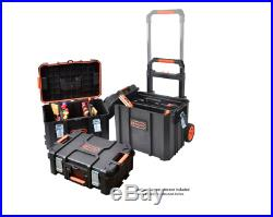 3in1 22 Tool Box Portable Rolling Cart Professional Storage Organizer Toolbox
