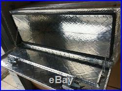 42L x 17W x 18H Aluminum Truck Underbody Tool Box Trailer Tool Storage Bed