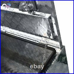 42aluminum Pickup Truck Trunk Under Bed Tool Box Underbed Trailer Storage+lock