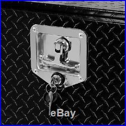 48 Aluminum Tool Box with Latch Pickup Truck Underbody Trailer Storage