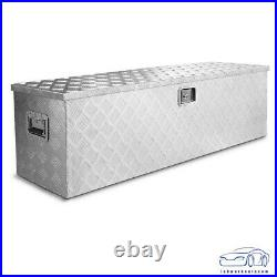 48 Aluminum Truck Pickup ATV Camper Tool Box Trailer Flatbed RV Storage Lock