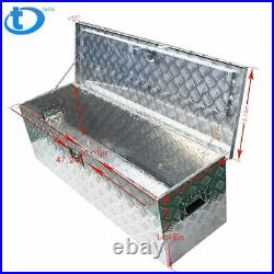 49 Aluminum Tool Box Storage withLock for Truck Pickup Camper Trailer Flatbed RV