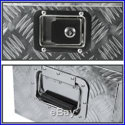 49 Heavy Duty Aluminum Tool Box Pickup Truck Trailer Storage Underbody+Handle