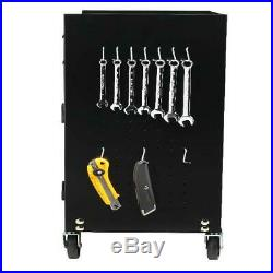 5-Drawer Rolling Tool Chest and Cabinet Combo with Riser, W2