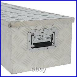 50 Aluminum Camper 5 Patterns Tool Box With Lock Pickup Truck Bed Trailer Storage
