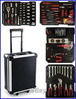 700pcs Tool Set Case Mechanics Kit Box Organize Castors Toolbox Trolley New
