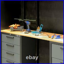 8 Pcs Tool Storage Cabinet Garage Organiser Workshop Heavy Duty Steel Hilka PRO