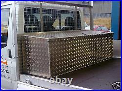 Aluminium alloy tool box vault van chest iveco transit sprinter Price inc VAT