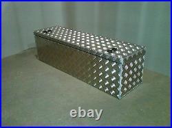 Aluminium storage tool box quad agricultural quad rack