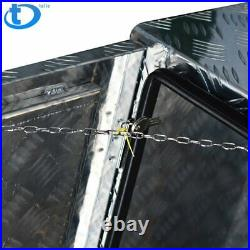 Aluminum Pickup Truck 24 Underbody Bed Tool Box Under Trailer Tool Storage