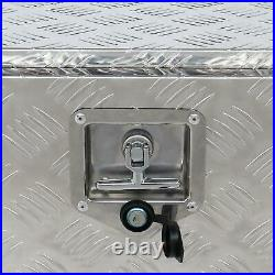 Aluminum Pickup Truck 24 Underbody Bed Tool Box Under Trailer Tool Storage NEW