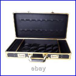 Barber Salon Travel Case Lock Attache Hair Trimmers Scissors Combs Tool Box