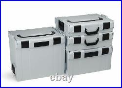 Bosch Sortimo 4er Set L-Boxx Gr1 Gr4 innovatives Transportsystem fürs Handwerk
