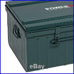 Box Metallkiste Transportbox Werkzeugkiste Lagerbox Maschinenbox Truckbox POWXQ