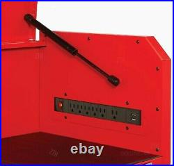 CRAFTSMAN 2000 Series 26-in W x 24.5-in H 4-Drawer Steel Tool Chest (Red)