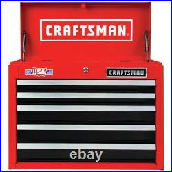 Chest Tool box 2000 Series 26-in W x 19.75-in H 5-Drawer Steel craftsman (Red)
