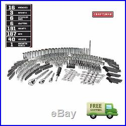 Craftsman 450 Piece Mechanic Tool Set With 3 Drawer Case Box #311 #254 #230 NIB