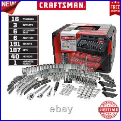 Craftsman 450-Piece Mechanic's Tool Set With 3 Drawer Case Box 99040 NEW