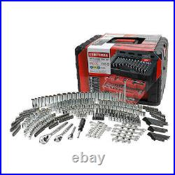 Craftsman 450 Piece Mechanic's Tool Set With 3 Drawer Case Box Wrenches Ratchets