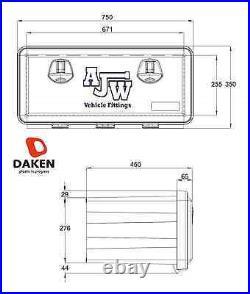 DAKEN JUST 750/350/450 Tool Box Side Locker Transporter HGV For Ratchet Straps
