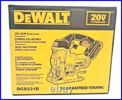 DEWALT DCS331B 20V Max Li-lon Cordless Jigsaw With 2 BLADES TOOL ONLY New In Box