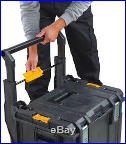 DEWALT Mobile Tool Storage Box ToughSystem DS450 22 In. 17 Gal. Portable Wheels