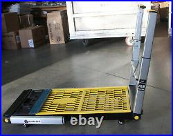DIY 4-In-1 MultiFunction Workbench Folding Wheel Scaffold Car Creeper Hand Trunk