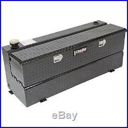 DZ92740XB Dee Zee Aluminum Truck Fuel Auxiliary Tank Toolbox Combo Low Profile