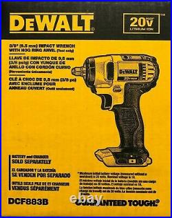 DeWALT DCF883B 20V Li-Ion 3/8 Cordless Impact Drill Bare tool NEW in Box
