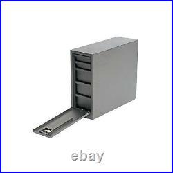 Dee Zee DZ95D Black Steel Wheel Well Tool Box withDrawers for 60 & 96 Truck Beds
