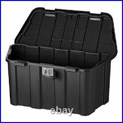 Deichselbox Anhänger 45L mit Zahlenschloss inkl Montagematerial Kiste