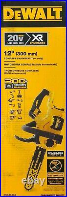 Dewalt DCCS620B 20 volt 12 Cordless Compact Chainsaw (bare tool) NEW in Box
