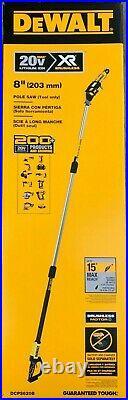 Dewalt DCPS620B 20 volt XR 8 Pole Saw 15' Reach (bare tool) NEW in Box
