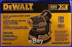 Dewalt DCW210B 20 volt Cordless Random Orbital Sander bare tool NEW IN BOX