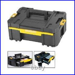 Dewalt DWST1-70702 TStak Combo II + IV and DWST1-70705 TStak III Deep Tool Boxes