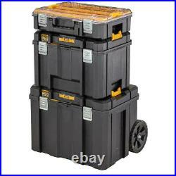 Dewalt DWST83347-1 TStak 2.0 Trolley Rolling Mobile Tool Storage Box + Tote Tray