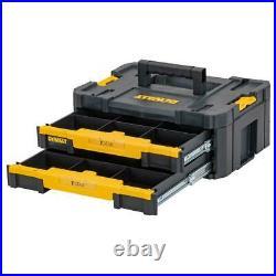 Dewalt DWST83395-1 TStak 2.0 Combo II IV Tool Storage Box 2 Drawers Foam Insert