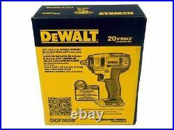 Dewalt Dcf883b 20v Max Cordless Li-ion 3/8 Impact Wrench New In Box Tool