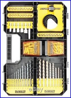 Dewalt Drill Case TStak Combo II + IV Tool Storage Boxes + 100pc Accessory Set