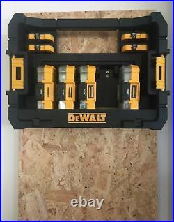 Dewalt FLEXTORQ 210 Pc Impact Screwdriver Drill Bit Set Tough Case TStak Caddy